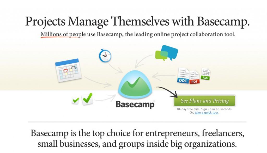 Basecamp: Projektmanagement Tool für effiziente Selbstorganisierung